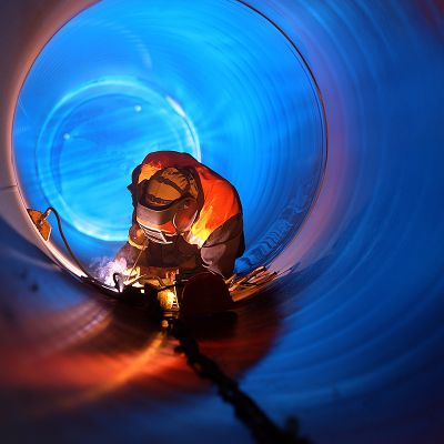 welding in tube